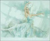 Darcey Bussell serenade - a Watercolour print by Gordon King