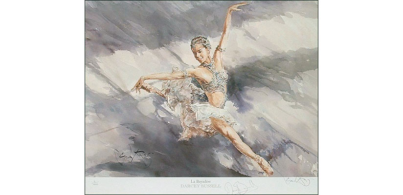 Darcey Bussell La Bayadere